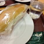 ベーカリーカフェ デリーナ - ハムエッグポテト