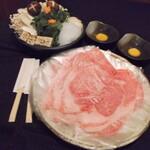 ないな - 神戸牛のすき焼き7800円