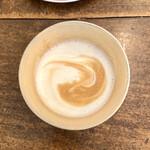 カフェ リゼッタ - ホットカフェオレ