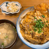 ふるさと - 料理写真:カツ丼+みそ汁 700円