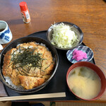 ぽぷら - カツ丼の大盛り