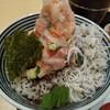 nihombashikaisendontsujihan - 料理写真:海鮮丼「竹」しらすがプラス