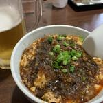 だんぶり亭 - 麻婆丼(小盛り)