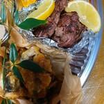 マケイヌノトオボエ - 牛肉と秋刀魚