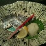 酒湊 - 太刀魚の塩焼き