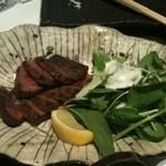 酒湊 - 阿蘇赤牛の炙りやき