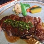 西風和彩食館夢鹿 - サーロインステーキ(150g,1890円)