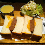 アメリカン - サンドイッチセット(1,000円)