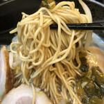 豚野郎 - 低加水ストレート細麺