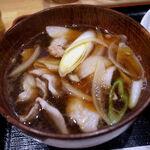 手打ちうどん 和 - 肉汁うどんのつけ汁