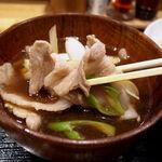 手打ちうどん 和 - 肉汁の具