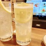 風来坊  - ガツッと男のレモンサワー 500円