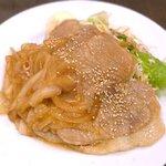 味囲楽 - 米沢豚のしょうが焼¥880 2020.10.19