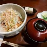 林屋 - 料理写真:さらしねぎ丼(並)