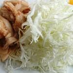かねよ食堂 - 生姜焼き定食