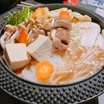 馬かばい - 桜鍋