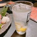 馬かばい - レモンサワー