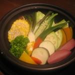 タイーム - 2012・8・13 季節野菜のタジン蒸し