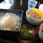 和料理 まつもり - 冷素麺と二色丼