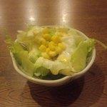 北の味紀行と地酒 北海道 - サラダ(2012.8)