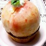 14317914 - 桃のケーキ