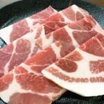 焼肉食彩 味来 - 黒豚ロース