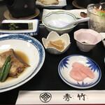 秀竹 - 朝食