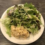 Osteria Lauro - サラダ&プチ前菜