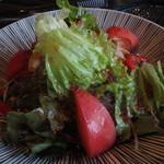 海雲台 - 野菜サラダ