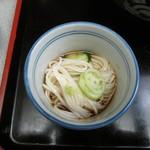 増田屋 - 冷や麦 一口