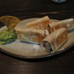 メキシコ料理エルソル - タコス タキートス600円 地鶏アボカド