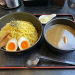 らーめん恵岳房 - 鴨なんつけ麺(1玉、650円)
