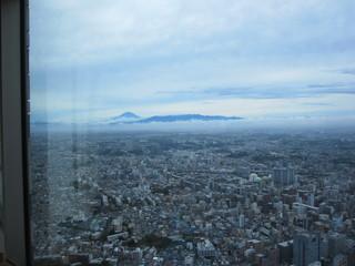 ル シエール - 晴れてきて 夏なのに珍しく 富士山が見えました
