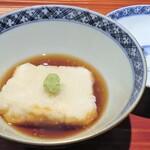 和食や 芦田 - 揚げ出汁胡麻豆腐