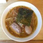 風々風 - 料理写真:豚骨サンマー麺 もやしそば … 770円 (+味付玉子)