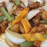 いこい飯店 - 料理写真:酢豚