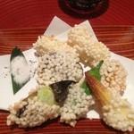 14320914 - 豆腐と野菜の天ぷら