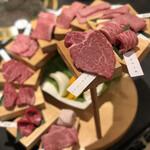 焼肉と精肉のひら山 - 料理写真:口福の階段