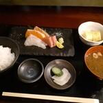 日本酒と鮮魚と釜飯 太公望ほっぺち - 造り定食