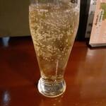 日本酒と鮮魚と釜飯 太公望ほっぺち - ジンジャエール