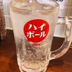 すいば - ゴールデン酎ハイ250円