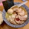 中華そば 笑歩 - 料理写真:塩そばにチャーシューと味玉をトッピング、あと白ごはん