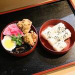 地久庵 - プラス280円の定食