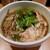 肉そば鶏中華最上川 - 冷たい肉そば(780円)