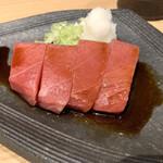 yakiuoishikawa - このトロを焼いて雲丹いくら丼にオンしてしまう(14,000円コース)