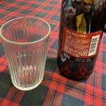 グリル一平 - 瓶ビールはキリンクラシックラガーの中瓶