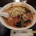 ajinochuukahagoromo - 山東麺(中国特製胡麻味噌麺)