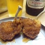 天七 - 2012.8 若どり(2串380円)