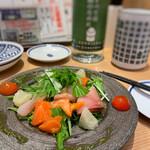 鮨・酒・肴 杉玉 - 海鮮カルパッチョ