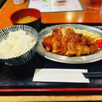 焼肉串ツチケン - トンテキ定食レギュラー
